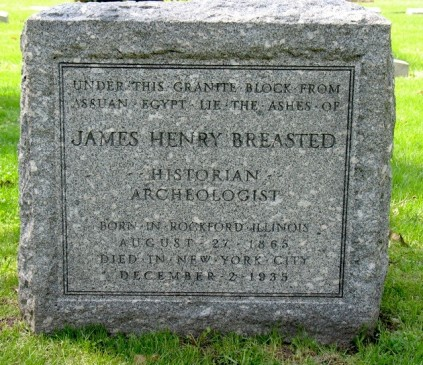 James Henry Breasted's grave